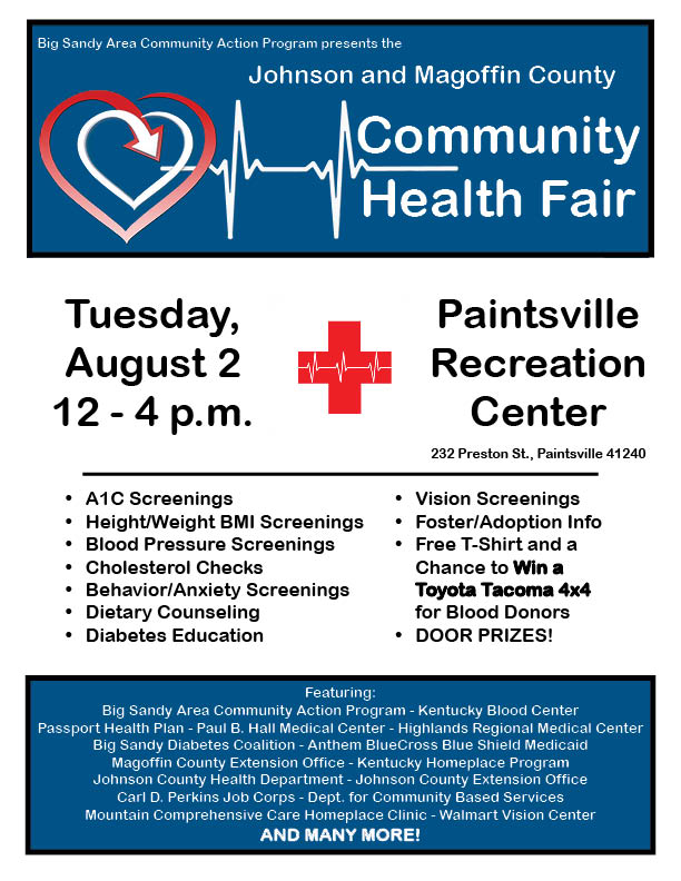 Health Fair-Johnson Magoffin-Aug 2016
