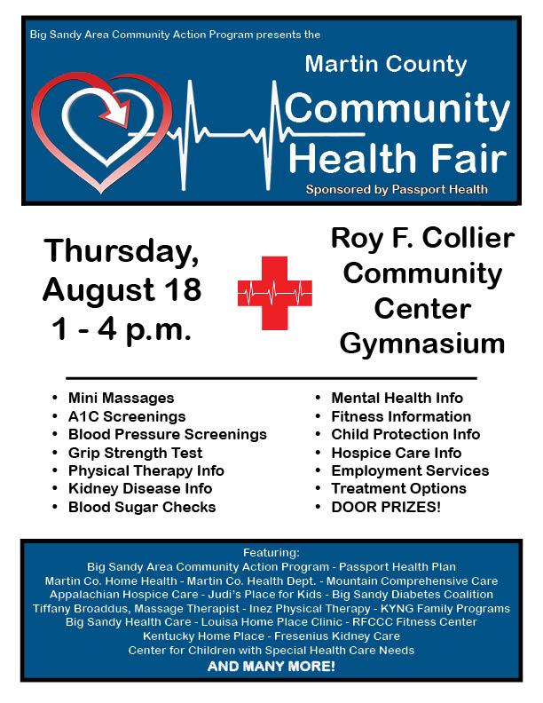 Health Fair-Martin-Aug 20161