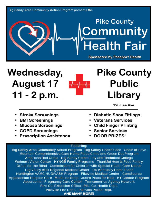 Health Fair-Pike-Aug 20161